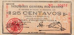 Mexico, 25 Centavos, 1913, XF, Ps551