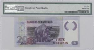 Mozambique, 20 Meticais, 2011, UNC, p149