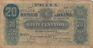 Mozambique, Portugal Mozambique, 20 Centavos, 1919, POOR, pR3a
