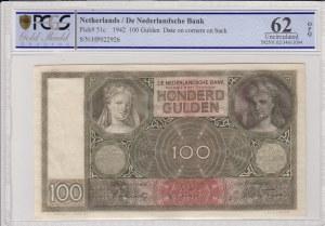 Netherlands, 100 Gulden, 1942, UNC, p51c