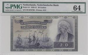 Netherlands, 10 Gulden, 1939, UNC, p54