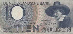 Netherlands, 10 Gulden, 1944, VF (+), p59