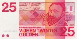 Netherlands, 25 Gulden, 1971, UNC, p92a