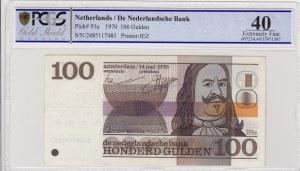 Netherlands, 100 Gulden, 1970, XF, p93a