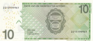Netherlands Antilles, 10 Gulden, 2014, UNC, p28