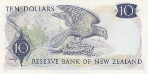 New Zealand, 10 Dollars, 1977, UNC, p166d