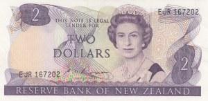 New Zealand, 2 Dollars, 1985, AUNC / UNC, p170b