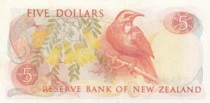 New Zealand, 5 Dollars, 1985, UNC, p171b