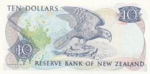New Zealand, 10 Dollars, 1989, UNC, p172c