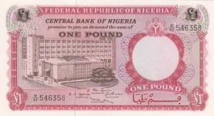 Nigeria, 1 Pound, 1967, UNC, p8