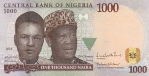 Nigeria, 1000 Naira, 2014, UNC, p36g