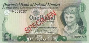 Northern Ireland, 1 Pound, 1977, UNC, p247, SPECIMEN