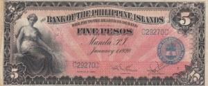 Philippines, 5 Pesos 1920, XF, p13