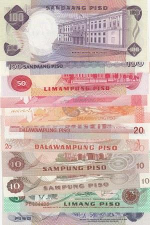 Philippines, 1 Peso, 5 Pesos, 10 Pesos (2), 20 Pesos (3), 50 Pesos and 100 Pesos (2), 1981-2013, UNC, (Total 11  banknotes)