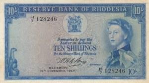 Rhodesia, 10 Shillings, 1964, XF, p24g