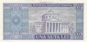 Romania, 100 Lei, 1966, UNC, p97