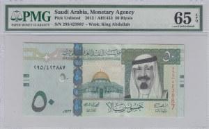 Saudi Arabia, 50 Riyals, 2012, UNC, p35