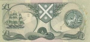 Scotland, 1 Pound, 1981, UNC, p111e