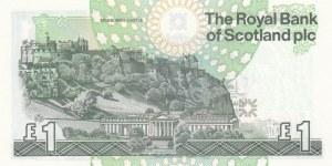 Scotland, 1 Pound, 2001, UNC, p351e