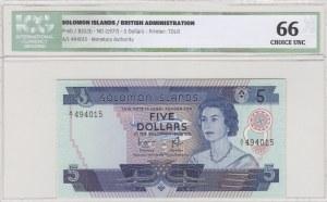 Solomon Islands, 20 Dollars, 1977, UNC, p6b