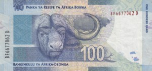 South Afrika Republic, 100 Rand, 2012, VF, p136