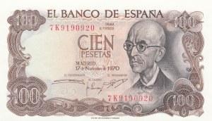 Spain, 100 Pesetas, 1970, UNC, p152