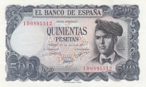 Spain, 500 Pesetas, 1971, UNC, p153
