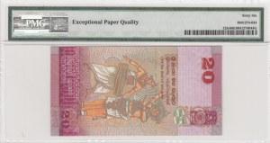 Sri Lanka, 20 rupees, 2015, UNC, p123c