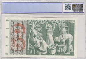 Switzerland, 50 Franken, 1961, UNC, p48b