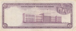 Trinidad And tobago, 20 Dollars, 1964,  XF (-), 29d