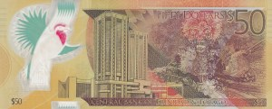 Trinidad And tobago, 50 Dollars, 2014,  XF, p54a