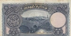 Turkey, 5 Livre, 1927, VF (+), p120