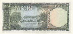 Turkey, 100 Lira, 1969, UNC, p182