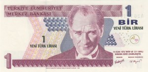 Turkey, 1 New Turkish Lira, 2005, UNC, p216