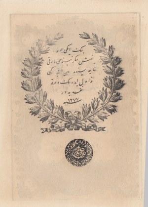 Turkey, Ottoman Empire, 20 Kurush, 1861, UNC, p36
