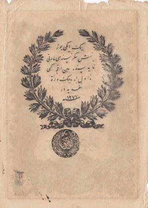 Turkey, Ottoman Empire, 20 Kurush, 1861, VF (+), p36