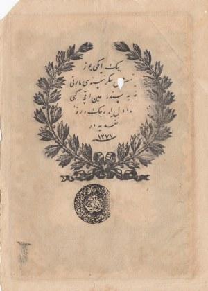 Turkey, Ottoman Empire, 20 Kurush, 1861, POOR, p36