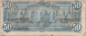 United State Of America, 50 Dollars, 1864, AUNC (-), Pg753