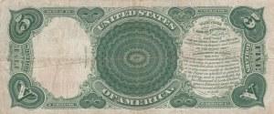 United State Of America, 5 Dollars, 1907, XF, p1986