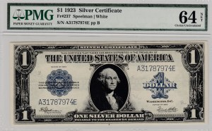 United States Of America, 1 Dollar, 1923, UNC, Fr237