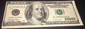 United States Of America, 100 Dollars, 1996, XF, p503