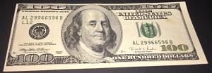 United States Of America, 100 Dollars, 1996, XF, p503