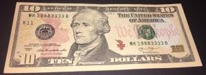 United States Of America, 10 Dollars, 2003, XF, p518