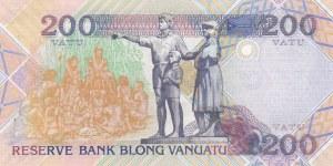 Vanuatu, 200 Vatu, 1995, UNC, p8b