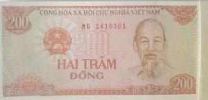 Vietnam, 200 Dong, 1987, UNC, p100, BUNDLE