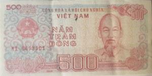 Vietnam, 500 Dong, 1988, UNC, p101, BUNDLE