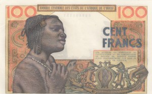 West African States, 100 Francs, 1965, UNC, p201Be