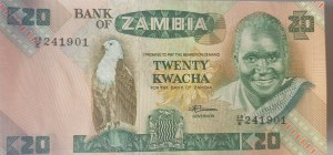 Zambia, 10 Kwacha, 1986-1988, UNC, p26e, BUNDLE