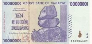 Zimbabwe, 10.000.000.000 Dollars, 2008, UNC, p85
