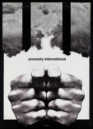 Roman Cieślewicz, Plakat Amnesty International, 1975